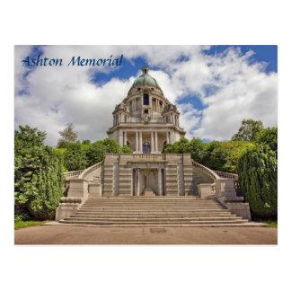 Ashton Memorial in Lancaster souvenir photo Postcard