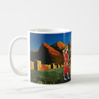 Ashurbanipal  Lion hunt Mug