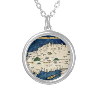 Asia 1513 silver plated necklace