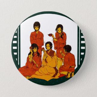 asia 7.5 cm round badge