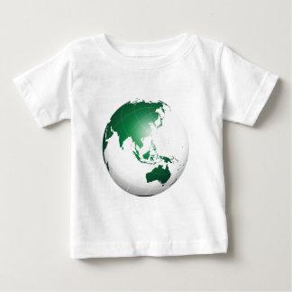 Asia Australia Oceania Green Globe Shirt