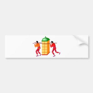 Asia Bumper Sticker