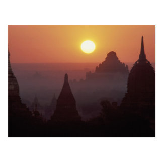 Asia, Burma, (Myanmar), Pagan (Bagan) The temple Postcard