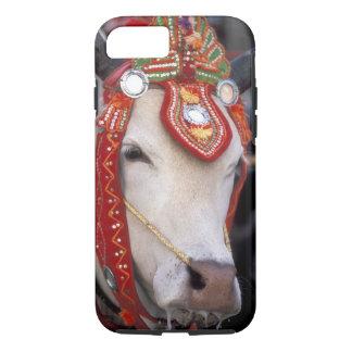 Asia, Burma (Myanmar) Shinbyu ceremony. Bull iPhone 7 Case