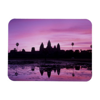 Asia, Cambodia, Siem Reap, Angkor Wat (b. 12th 2 Rectangular Photo Magnet