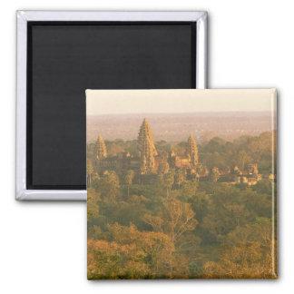 Asia, Cambodia, Siem Reap. Angkor Wat. Square Magnet