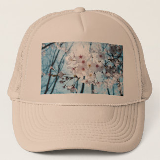 Asia Cherry Blossoms Trucker Hat