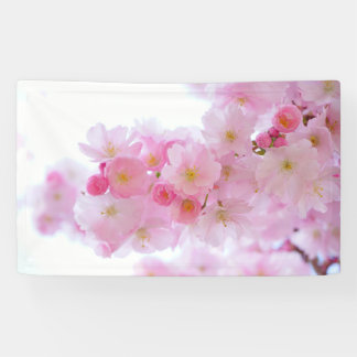 Asia Cherry Tree Blossom Banner