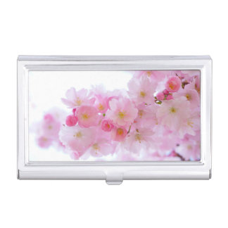Asia Cherry Tree Blossom Business Card Holder