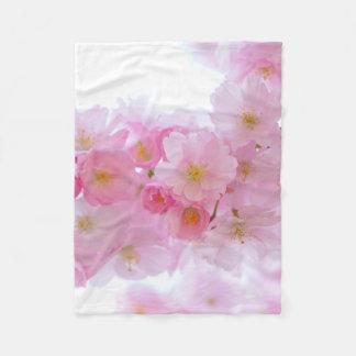 Asia Cherry Tree Blossom Fleece Blanket