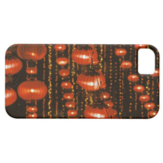Asia, China, Beijing. Red Chinese lanterns, Barely There iPhone 5 Case