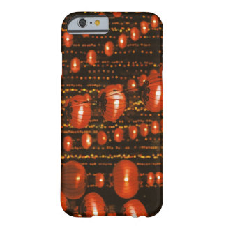 Asia, China, Beijing. Red Chinese lanterns, Barely There iPhone 6 Case