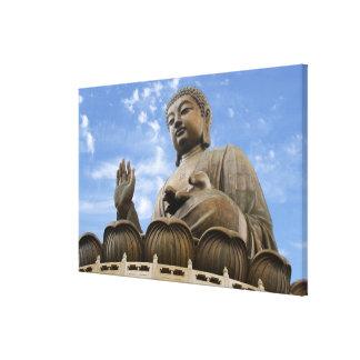 Asia, China, Hong Kong, Lantau Island, Ngong Gallery Wrap Canvas