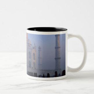 Asia; India; Agra. Taj Mahal. Two-Tone Mug