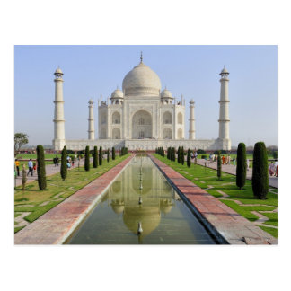 Asia, India, Uttar Pradesh, Agra. The Taj 5 Postcard