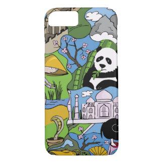 Asia iPhone 7 Case