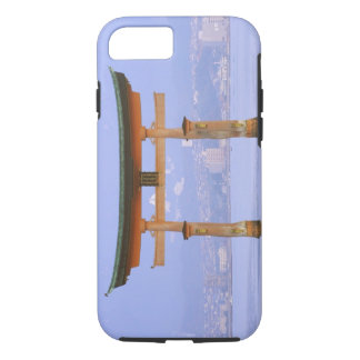 Asia, Japan, Hiroshima. Mivaiima. Torii Gate iPhone 7 Case