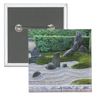 Asia, Japan, Kyoto, Daitokuji Temple, Zuiho-in 15 Cm Square Badge