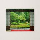 Asia, Japan, Kyoto. Zen Garden 2 Jigsaw Puzzle