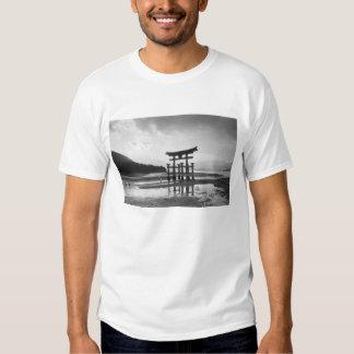 Asia, Japan, Myajima. Torri Gate Tshirts