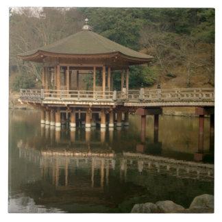 Asia, Japan, Nara, Temple in Nara Tile