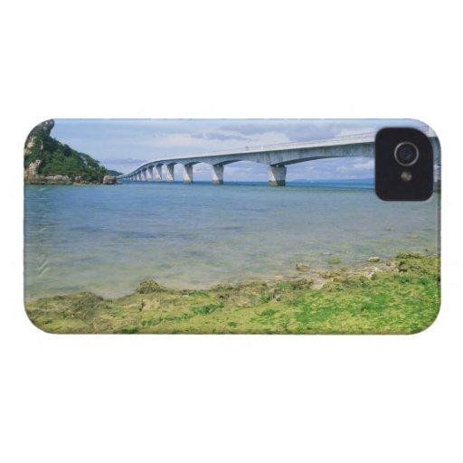 Asia, Japan, Okinawa, Kouri Bridge Blackberry Bold Case