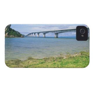 Asia, Japan, Okinawa, Kouri Bridge Case-Mate iPhone 4 Cases