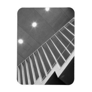 Asia, Japan, Tokyo. Stairs at the Tokyo Rectangular Photo Magnet
