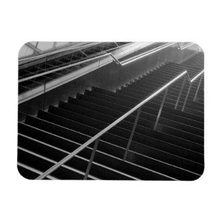 Asia, Japan, Tokyo. Stairs, Tokyo International 2 Rectangular Photo Magnet