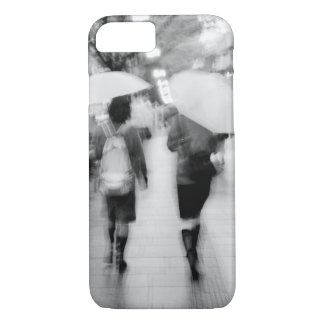Asia, Japan, Tokyo. Young women and umbrellas. iPhone 7 Case