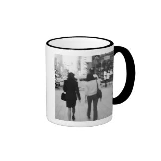 Asia, Japan, Tokyo. Young women on the Ginza. Ringer Mug