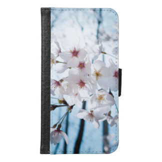 Asia Japanese Cherry Blossom Samsung Galaxy S6 Wallet Case