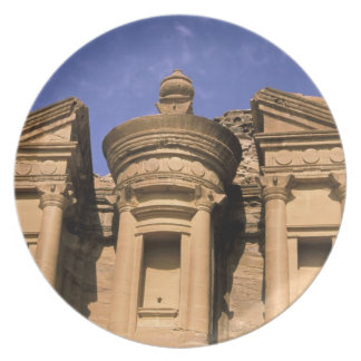 Asia, Jordan, Petra. El Deir, the Monastery. 2 Dinner Plates