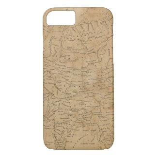 Asia Map 3 iPhone 7 Case