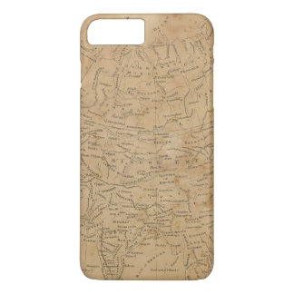 Asia Map 3 iPhone 7 Plus Case