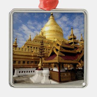 Asia, Myanmar (Burma), Bagan (Pagan). The Shwe 2 Metal Ornament