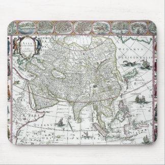 Asia noviter delineata, 1617 mouse pad