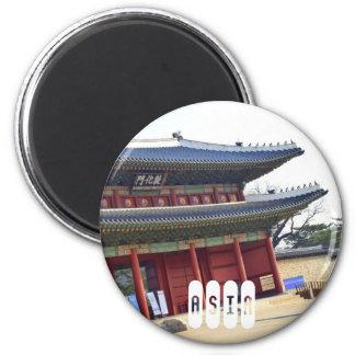 Asia: South Korea Magnet