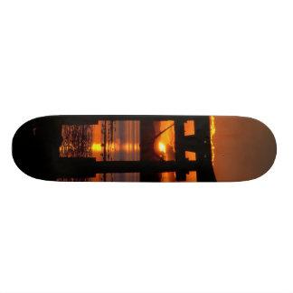 Asia Sunset Custom Skateboard