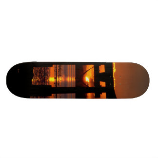 Asia Sunset Skate Board Deck