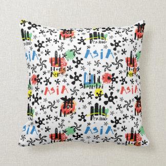 Asia | Symbols Pattern Cushion