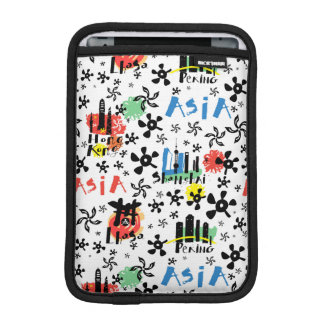 Asia | Symbols Pattern iPad Mini Sleeve