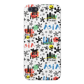 Asia   Symbols Pattern iPhone 5 Cover