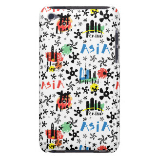 Asia | Symbols Pattern iPod Touch Case