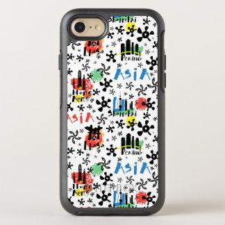 Asia   Symbols Pattern OtterBox Symmetry iPhone 8/7 Case