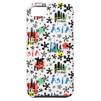 Asia | Symbols Pattern Tough iPhone 5 Case