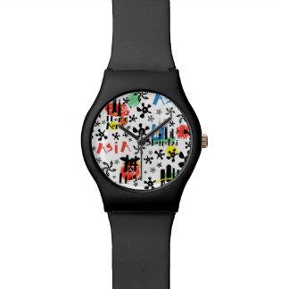 Asia   Symbols Pattern Watch