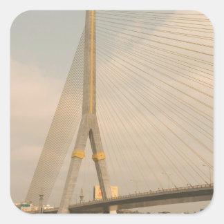 Asia, Thailand, Bangkok, bridge over Chao Square Sticker