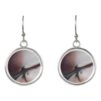 Asia Waters Abstract Drop Earrings