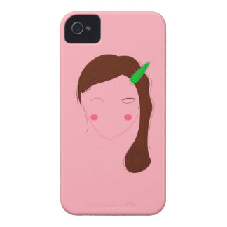 Asia woman pink wellness girl iPhone 4 Case-Mate case